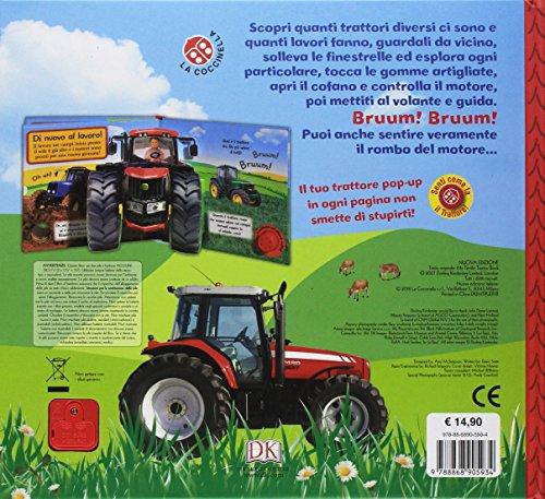 scaricare ebook gratis Il mio trattore. Libro pop-up. Ediz. a colori PDF Epub