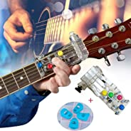 Guitar Learning Teaching Practrice Aid Auxiliary Tool Chord Buddy Lesson for All Ages Beginner