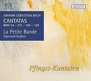Bach: Pfingst-Kantaten (Kantaten für das Kirchenjahr Vol.16: BWV 34/173/184/129)