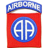 WWII WW2 82nd AIRBORNE Division AIR FORCES US USAF Pilot Tab army navy academy military us air force academy cavalry marine corps national guard logo Jacket Patch Sew Iron on Embroidered Sign Badge Costume by Large husky patches