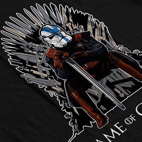Game Of Thrones Star Wars Clones Men's Vest Black