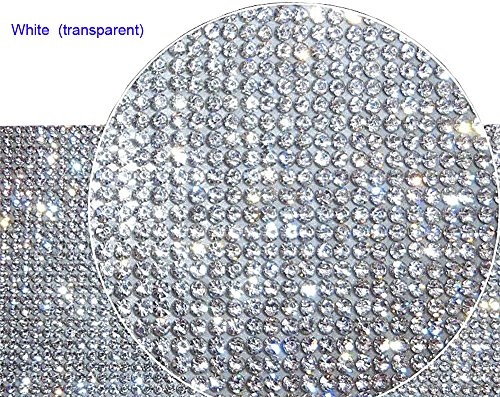 DIY - crystal strass auto handy mobile dekoration aufkleber edelsteine scrapbooking wortspiele (transparent)