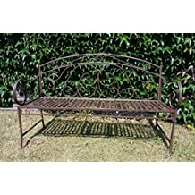 Mesas de hierro forjado para jardin - Amazon mesas de jardin ...