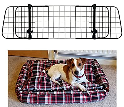 XtremeAuto® Car Dog Guard With Dog Bed / Boot Liner OR Rubber Boot Mat