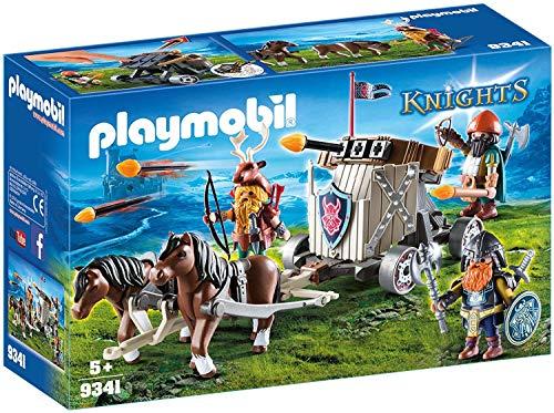 Playmobil - Char de combat avec baliste et nains - 9341