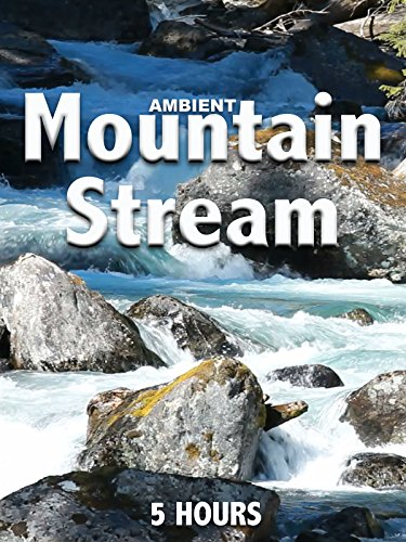 Ambient Mountain Stream - 5 hours