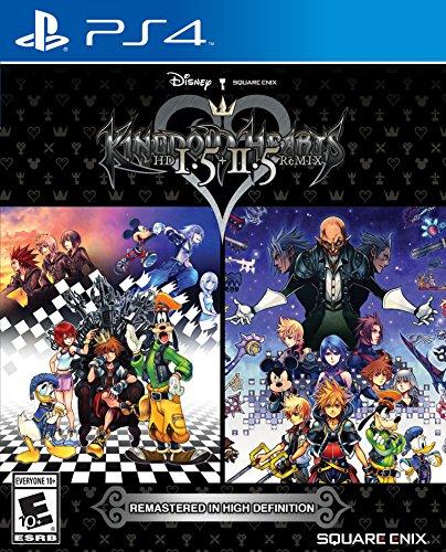 Square Kingdom Hearts HD 1.5 + 2.5 ReMIX - PlayStation 4