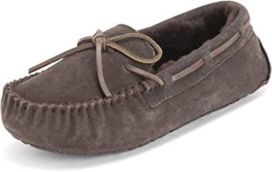 Polar Womens Moccasins Real Suede Australian Loafers Slippers