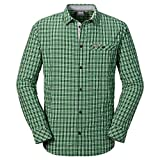 Jack Wolfskin Dixon Shirt M Seagrass Checks