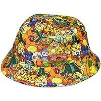 Bioworld Pokemon All Over Print sublimada Bucket Hat