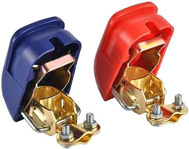 24V Batteria Interruttore rapido Stampa Terminali Scap Batteria connettori Morsetti di Camion del crogiolo di Automobile Van heacker 2pcs 12