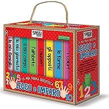 Leggo e imparo. La mia prima biblioteca. Ediz. illustrata