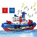 Mmrm Neu Hochgeschwindigkeit Hochleistung Musik Licht Elektrische Marine Rettung Feuerwehr Boot Spielzeug von Mmrm