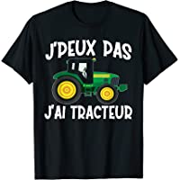 Je Peux Pas J'Ai Tracteur - Agriculture Cadeau Agriculteur T-Shirt