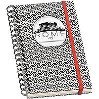 Dohe Vesta City Espiral - Cuaderno con diseño Rome, A6