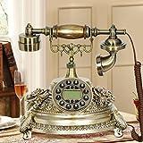 LPYMX Büro-Telefon-klassisches Wohnzimmer-europäischer antiker Handy-Dekoration-Antiken-Handy kreatives Schreibtisch-Telefon