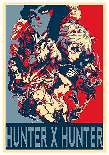 "Poster Hunter x Hunter ""Propaganda"" Characters - A3 (42x30 cm)"