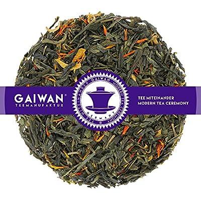 """N° 1277: Thé vert """"Orange fraîche"""" - feuilles de thé - GAIWAN® GERMANY - thé vert de Chine, ananas, orange, safran des teinturiers"""