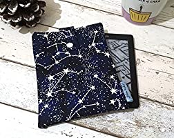 Constellation Kindle Sleeve, Glow in the Dark Case - Kindle Fire, Paperwhite, Voyage Cover, Unique eReader Pouch
