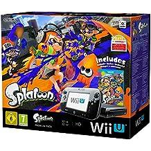 Console Nintendo Wii U 32 Go noire + Splatoon - édition limitée