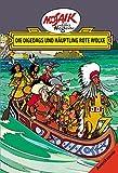 Mosaik von Hannes Hegen: Die Digedags und Häuptling Rote Wolke (Digedagbücher - Amerika-Serie)
