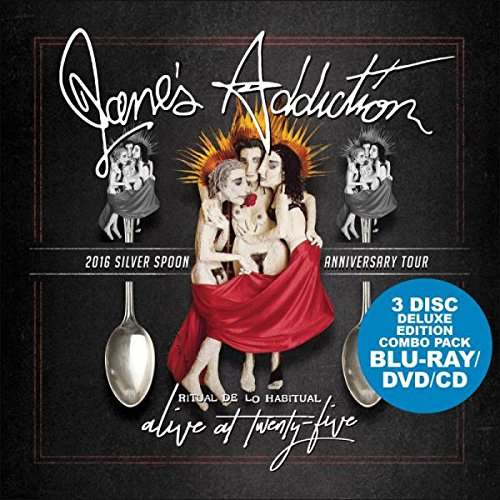Jane's Addiction: Alive At Twenty-Five - 4k Ultra HD Blu-ray [DVD + CD]