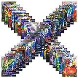 Jiang Hui Jeux De Cartes 100 Pcs Pokemon Cartes Style TCG Holo EX Full Art 59 Cartes EX 20 Cartes Mega EX 20 Cartes GX 1 Énergie Carte Puzzle Jeu De Cartes Amusant