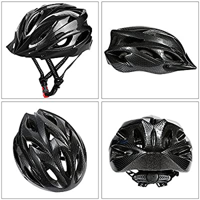Zacro Adult Bike Helmet with Sports headband, Cycling Bike Helmet Specialized for Men and Women Riding Safety, CE Approved (54-62cm) by Zacro