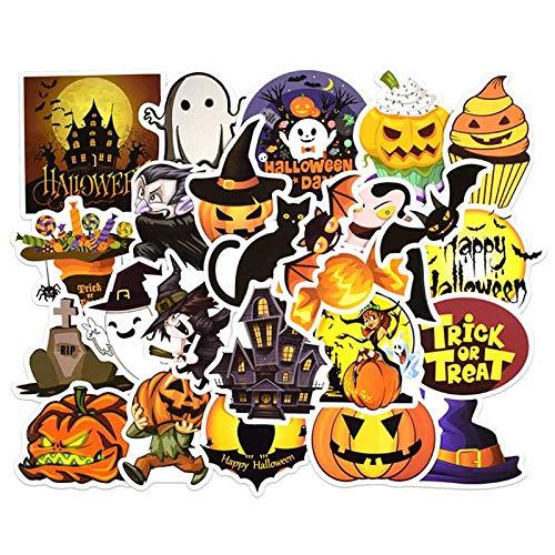 WENCHI Happy Halloween Weihnachten Scrapbook Briefpapier Aufkleber Planer Kalender Agenda Schule Kunst Bastelbedarf 25St -