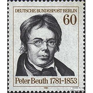 Prophila Collection Berlin (West) 654 (kompl.Ausgabe) 1981 Peter Beuth (Briefmarken für Sammler)
