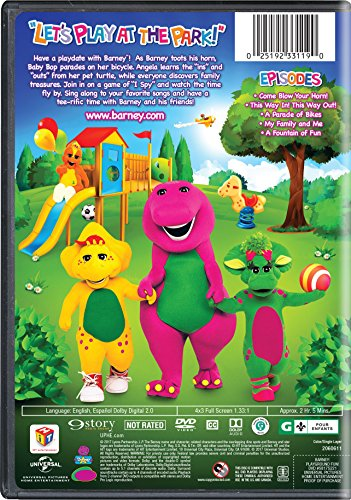 Tv Series Barney Playground Fun Was Listed For R687 00