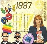 1997 Birthday | Anniversary Gifts - 1997 Chart Hits CD and 1997 Year Greeting Card