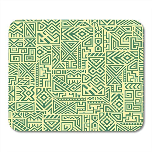 HOTNING Gaming Mauspads Gaming Mouse Pad Mexico Creative Ethnic Unique Geometric Swatch Screen Site 11.8