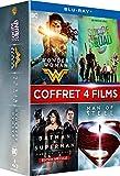 Wonder Woman + Suicide Squad + Batman v Superman : L'Aube de la justice + Man of Steel [Blu-ray]