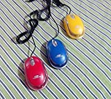 Terabyte Colored Optical wired USB Mouse...