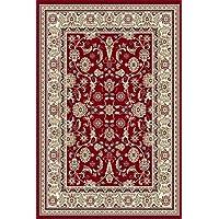Tapis Classique, Oriental, 200x300, Rouge, Pure Laine !!! (200_x_300_cm)