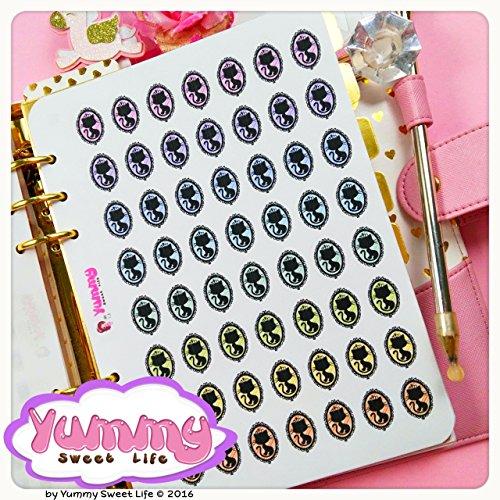 2-fogli-di-adesivi-stickers-a5-cameow-camiao