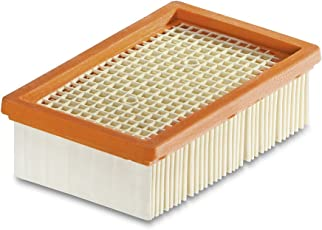 VMTC Flat Pleated HEPA Filter - for Karcher WD4, WD4 Premium, WD5, WD5 Premium, WD 6 Premium, MV4, MV5, MV6.