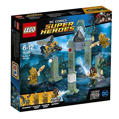Lego – 76085 – DC Comics Super Heroes – Justice League – La Bataille d'Atlantis - 6 - 12 ans, Figurines