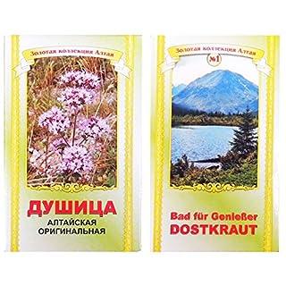 Dostenkraut Origani herba 50g Bad Kräuter Altai Badekräuter Dost душица