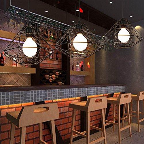 KHSKX Ristorante villaggio americano di vento vintage industriale loft idee lampadari decorativi lampadario e abbigliamento Cafe negozio nido Lampadario