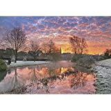 Wentworth 250 Piece Finely Cut Wooden Jigsaw - Lava Sky