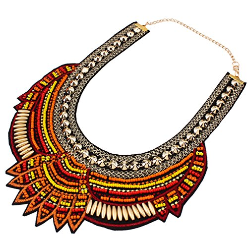 yazilind-style-ethnique-cafe-multiple-chaine-perles-millet-chunky-declaration-bib-choker-collier-pou