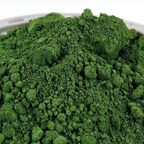 Pigmentpulver, Eisenoxid, Oxidfarbe - 100g (39,90€/kg) im Beutel Farbpigmente, Trockenfarbe für Beton + Wand - Farbe: grün