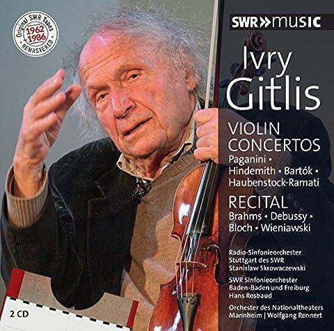 Ivry Gitlis - Concertos pour violon -