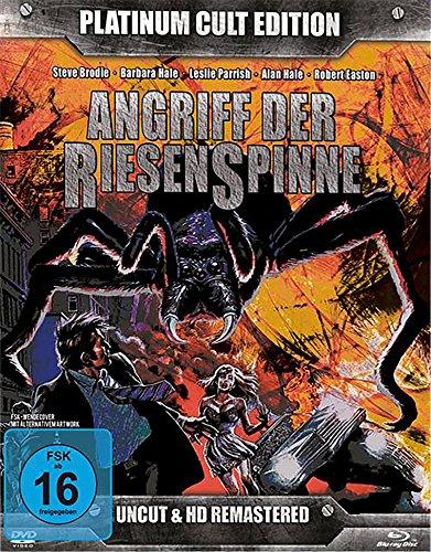 Angriff der Riesenspinne - Platinum Cult Edition (Blu-Ray + 2 DVDs + Audio-CD) limitierte Auflage 1000 Stück !! [Limited Edition] -