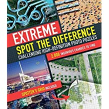 Extreme spot the difference: Challenging High-definition Photo Puzzles by Tim Dedopulos (2014-07-17)