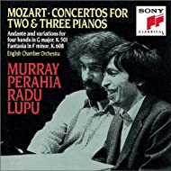 Mozart: Concertos for 2 & 3 Pianos; Andante and Variations for Piano Four Hands