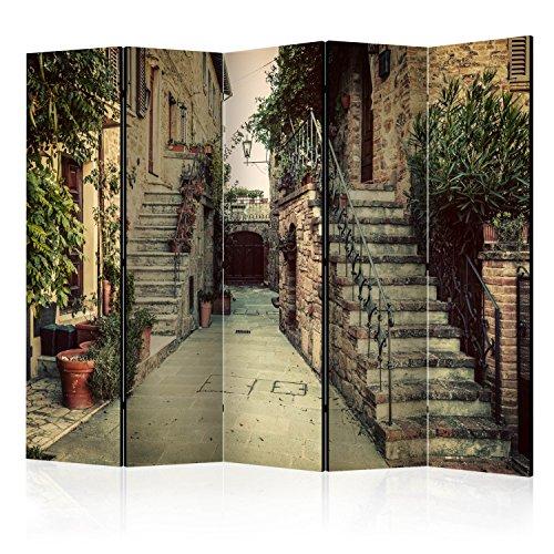 murando - Biombo con Tablero de Corcho: 5 x172x45 cm de impresión en el Lienzo de TNT Foto Biombo Decorativo para Interiores d-B-0096-z-c