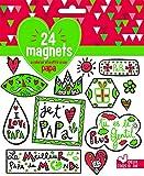 Telecharger Livres 24 magnets a colorier et a offrir a son papa (PDF,EPUB,MOBI) gratuits en Francaise